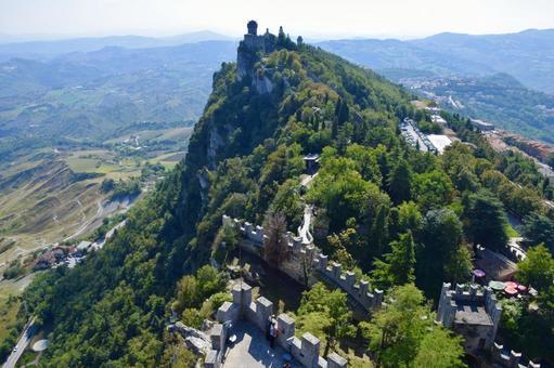 聖馬力諾共和國的風景