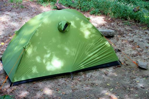 Solo camping tent