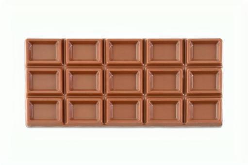 Plate chocolate psd1