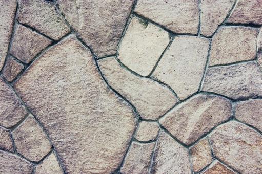 Background stone pavement