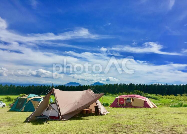 青空キャンプの写真