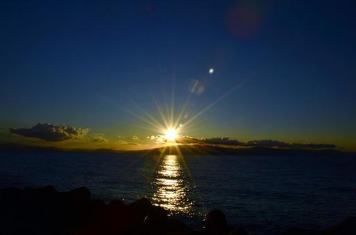 First sunrise 7