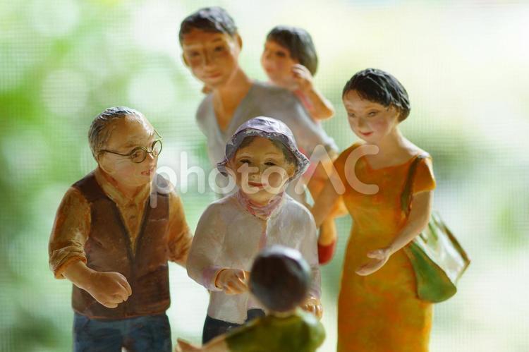 大好き、仲良し家族の写真