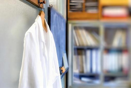 Dazzling lab coat