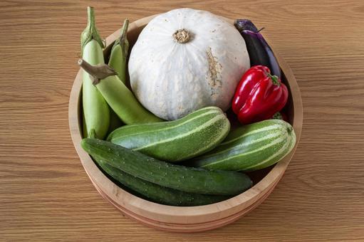 Freshly picked vegetables 3
