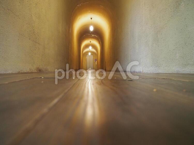 千と千尋の神隠しのモデルになったと言われているトンネルの写真