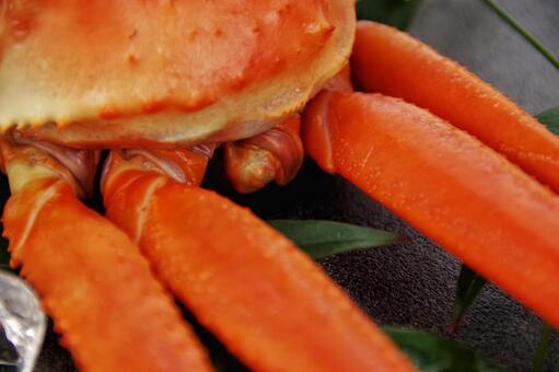 Matsuba crab crab leg defect