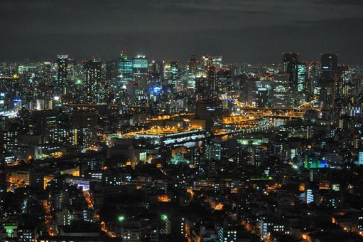 오사카 야경