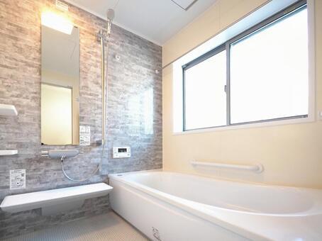 Bath Bathroom 1 tsubo Condominium for rent Residential bath Ishime style