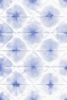 背景水彩日式折疊染藍灰色紙