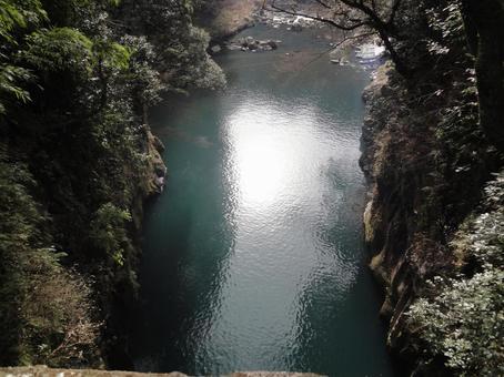 宮崎高千穗峽