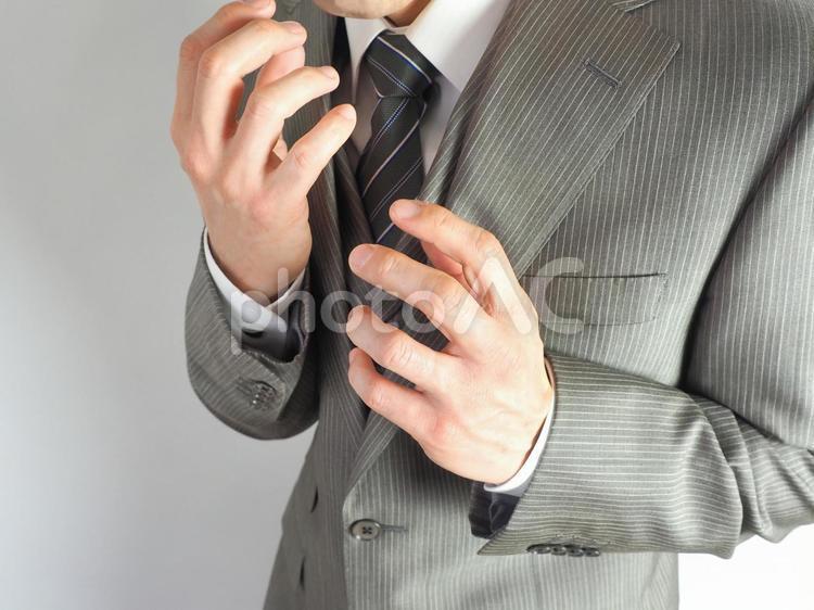 ビジネスマン【ミスを犯した男性】の写真