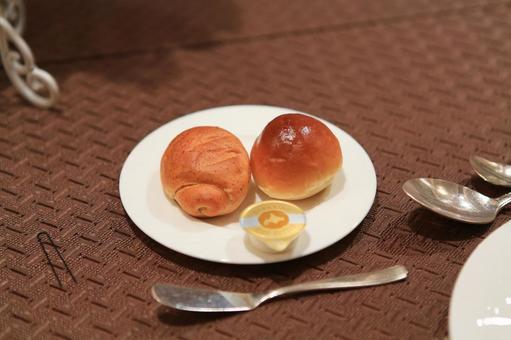 Delicious bread for a wedding reception