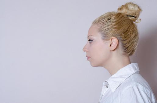Business style female profile 1