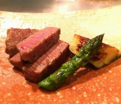 High class steak Kobe beef