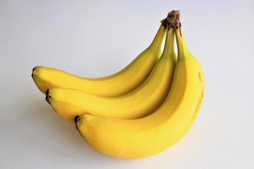 Banana (white background, PSD available)