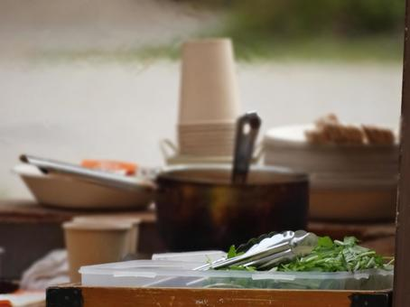 Natural hood stall pot