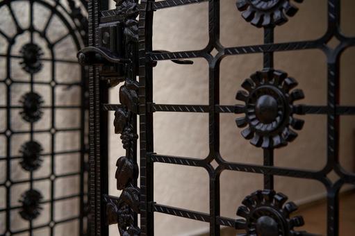 Modern design fence