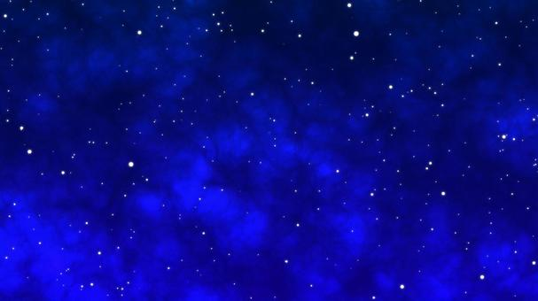 Blue starry sky background material