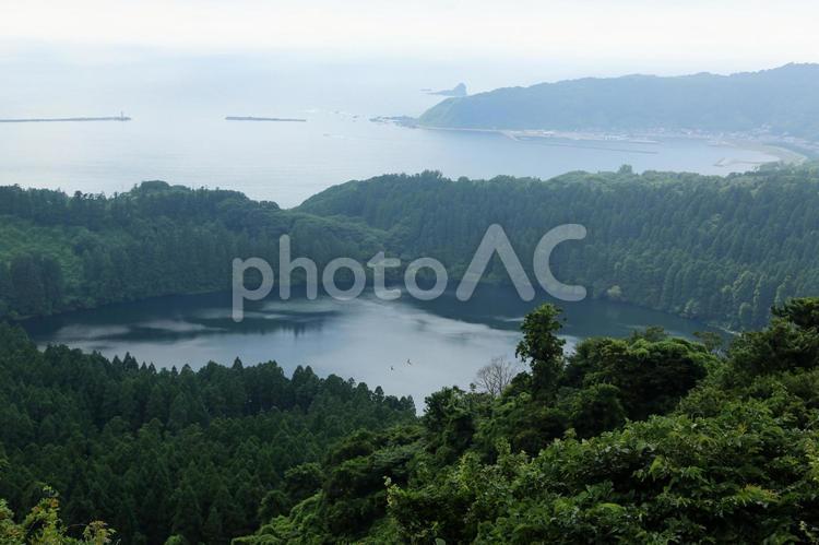 男鹿半島「八望台」一景(秋田県)の写真