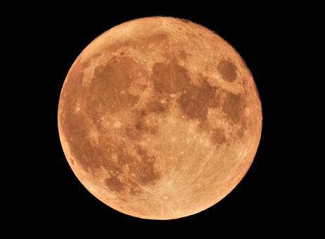 Full moon / back moon (Oshikatsuki)
