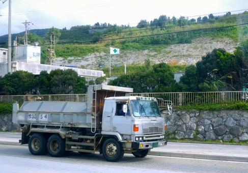 Image of mine and dump truck