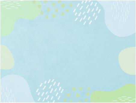 現代日本紙背景材料_淡藍色日本圖案紋理