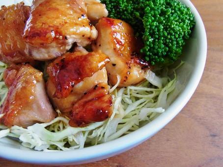 치킨 데리야키 덮밥
