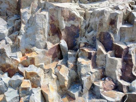 Rocky area of Cape Hino