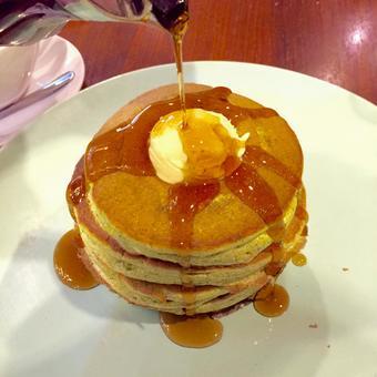 Matcha souffle pancake 3