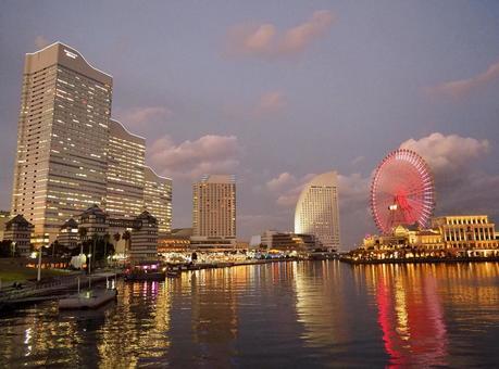 Minatomirai nightfall