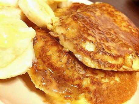Handmade pancake