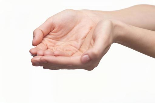 Hand pose offering 2