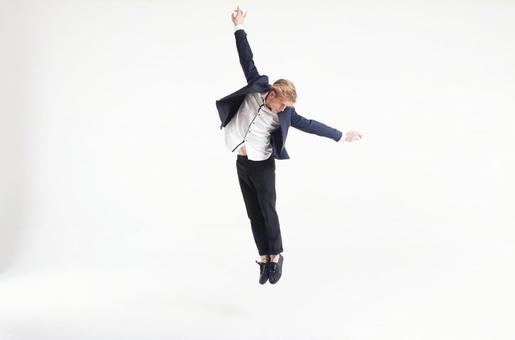 Male dancer who decides pose 2