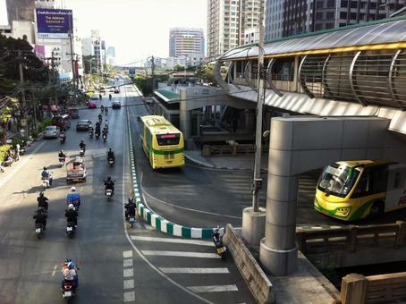 Thai Bus Rapid Transit System BRT