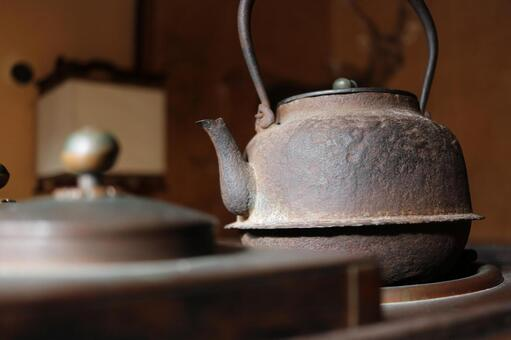 An old kettle
