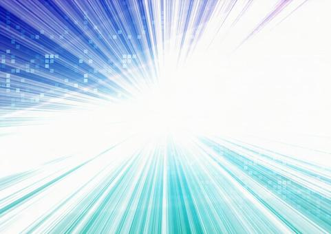 Image of digital and spreading light