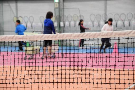 테니스 연습