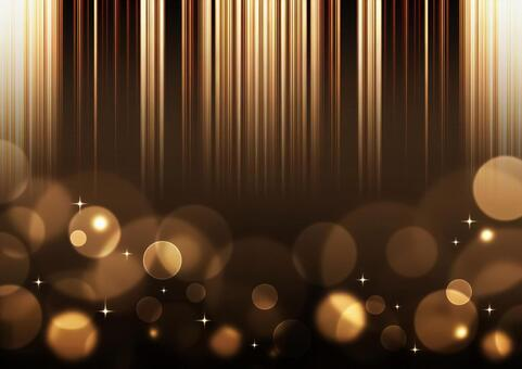 Glitter, ball bokeh and vertical stripes background material