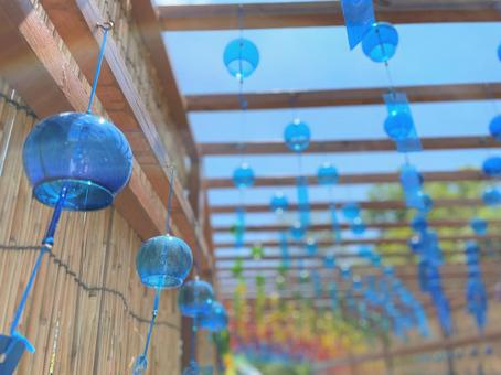 A cool wind chime path