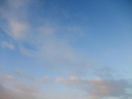 黎明前的天空