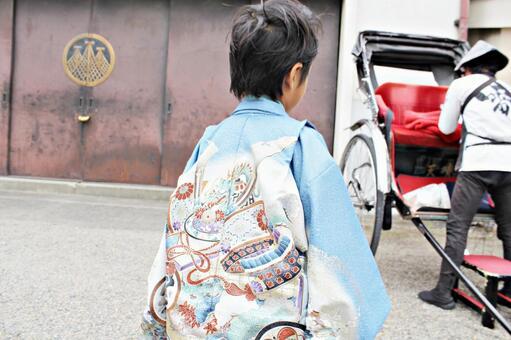 A kimono boy