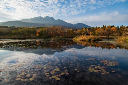 Imori Pond (Myoko Kogen) Autumn Leaves Season
