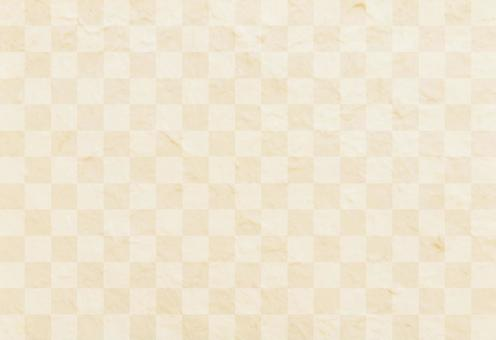 Japanese paper material - checkered pattern background
