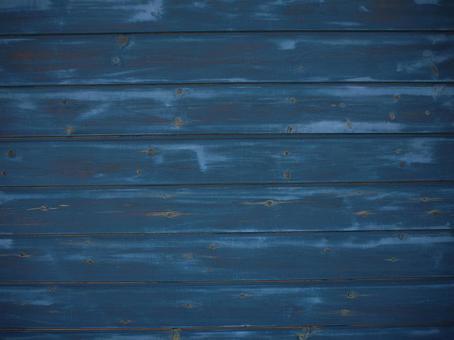 Wood grain material (Indigo Blue)