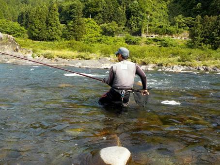 Angler of the Nagara River