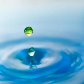 Abstract water drop 18