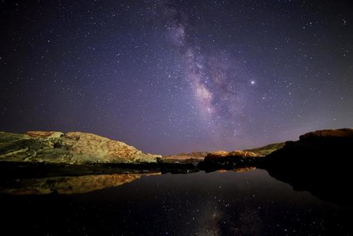 野島崎의 밤하늘