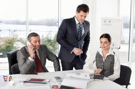 Discuss business team 1