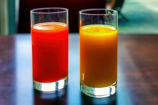 健康早餐圖像鮮榨果汁